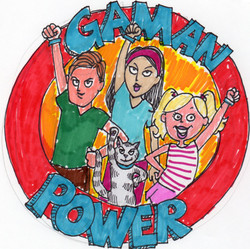 Gaman Power sketch