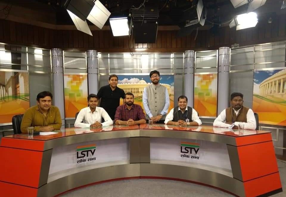 DPLG batch 2018-19 at the Lok Sabha TY s