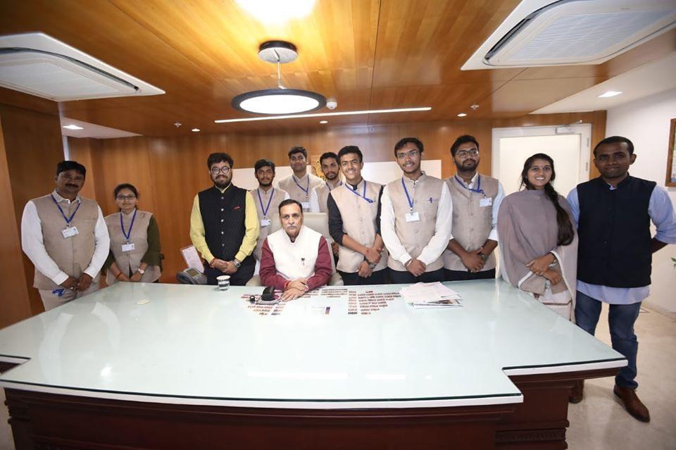 DPLG batch 2019-20 meeting with Shri Vij