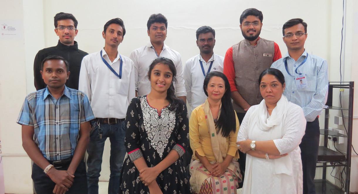 PMLG Students with Dr. Joram Anya Tana.J