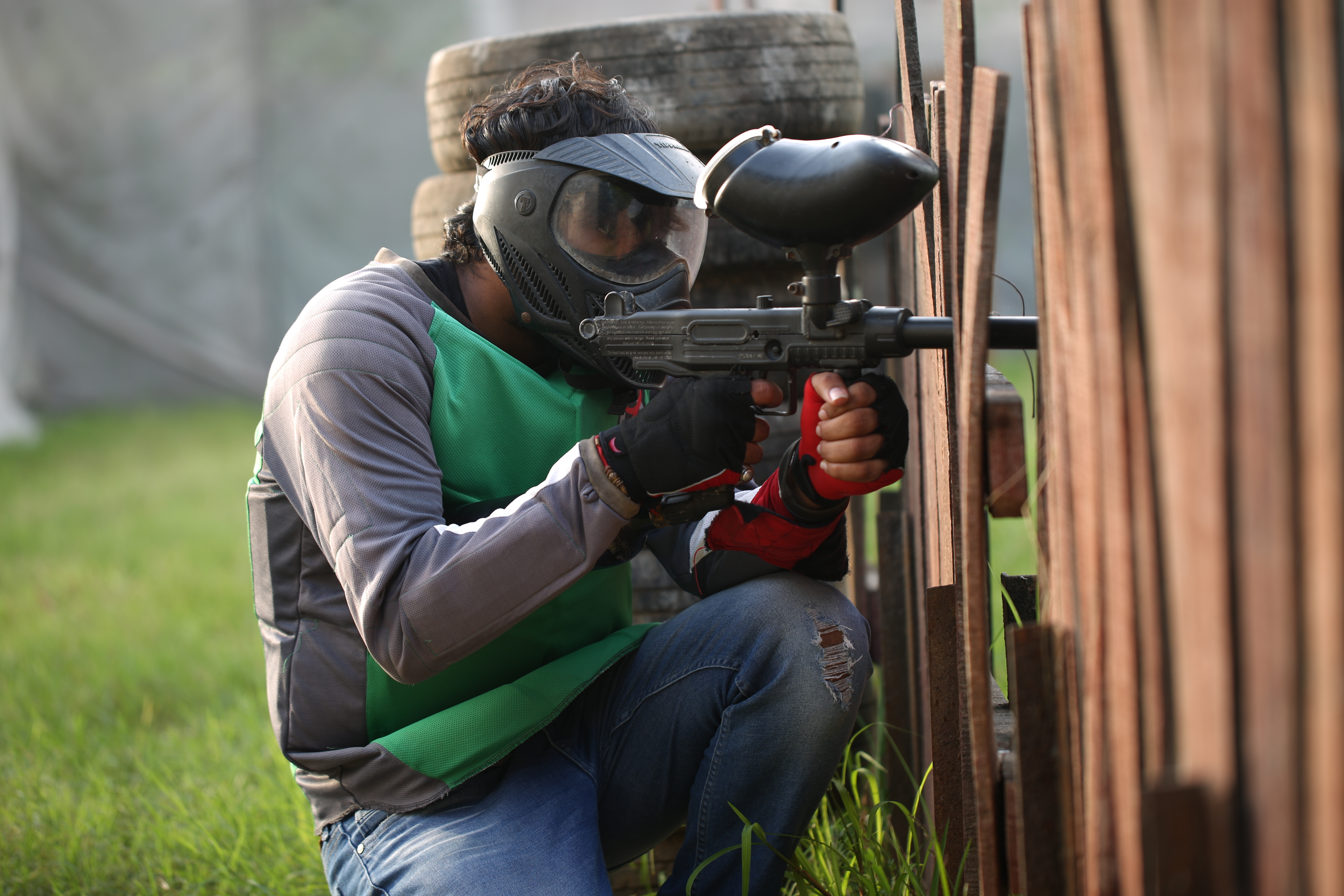 Paintball 50 ball Package