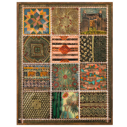 Quilt with border
