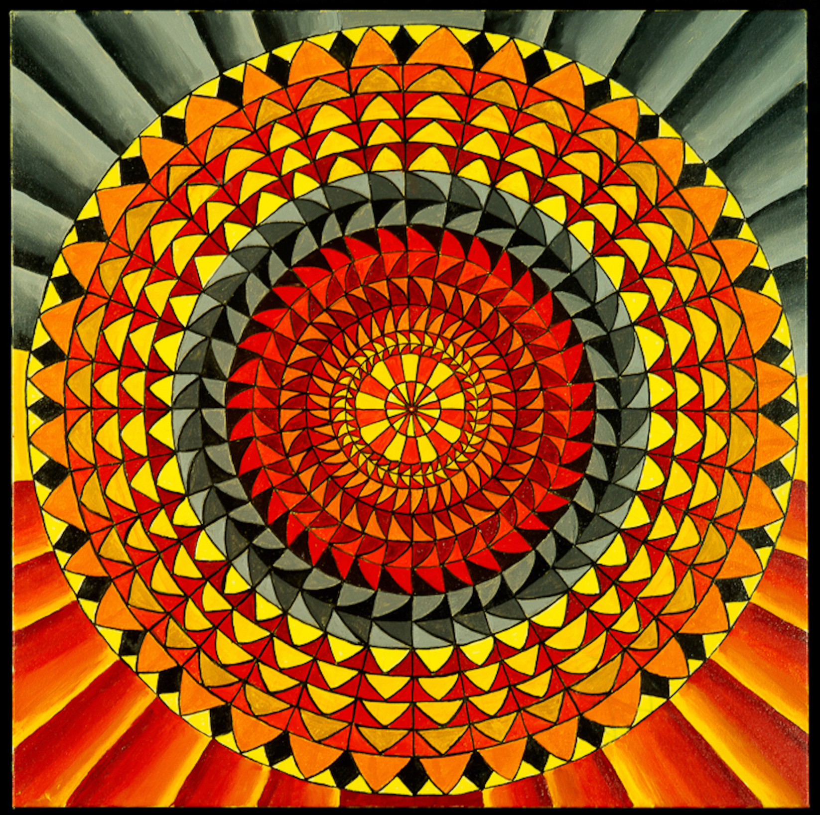 Mandala of the Wild Fires