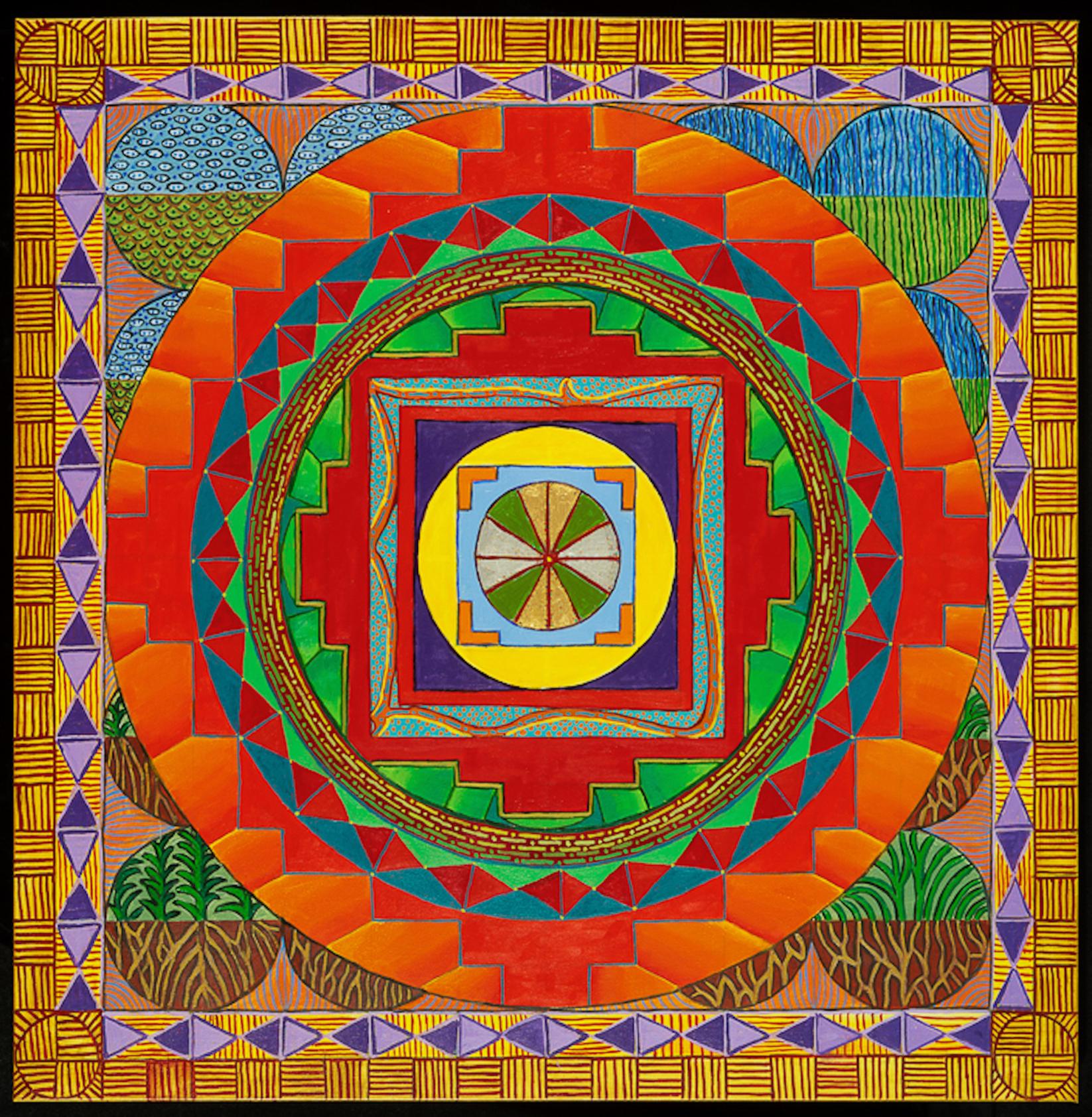 Buddha Grid Mandala