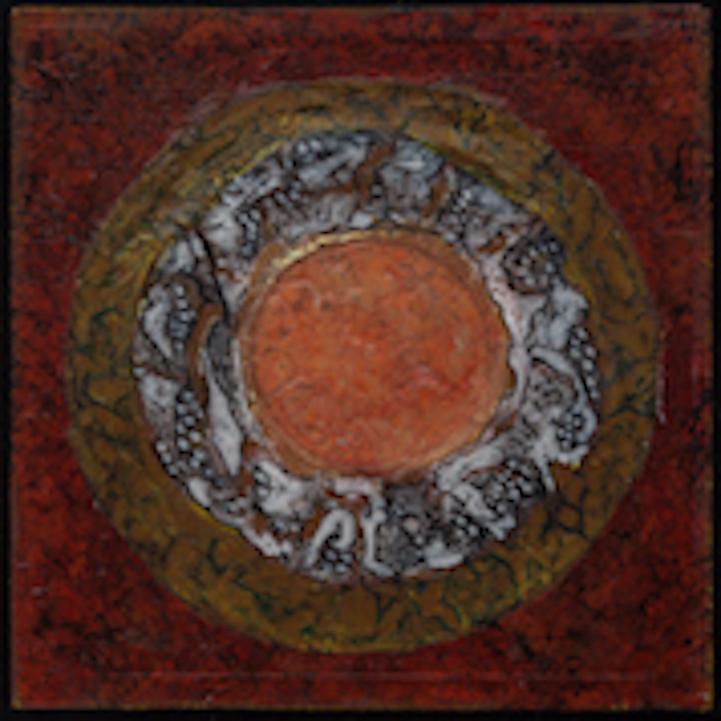 Lava Rock Mandala