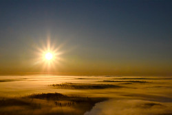 Sunrise Cloudscape