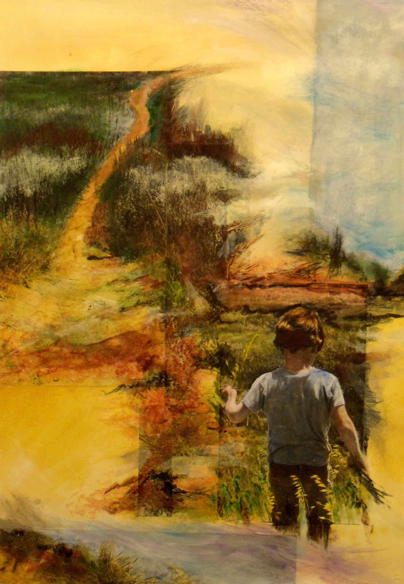 Adam at Rowland Marsh