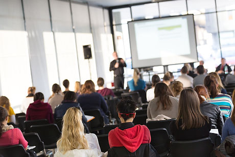 Faculty lecture and workshop.jpg Audience at the lecture hall.jpg Academic education.jpg