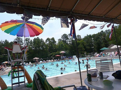 Walton Park Pool in season.