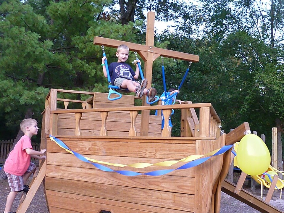 Walton Park Playground Ship