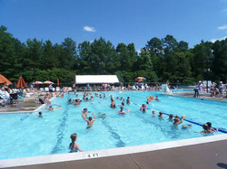 Walton Park Swimming Pool in swing!