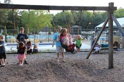 Walton Park Playground Swing Set