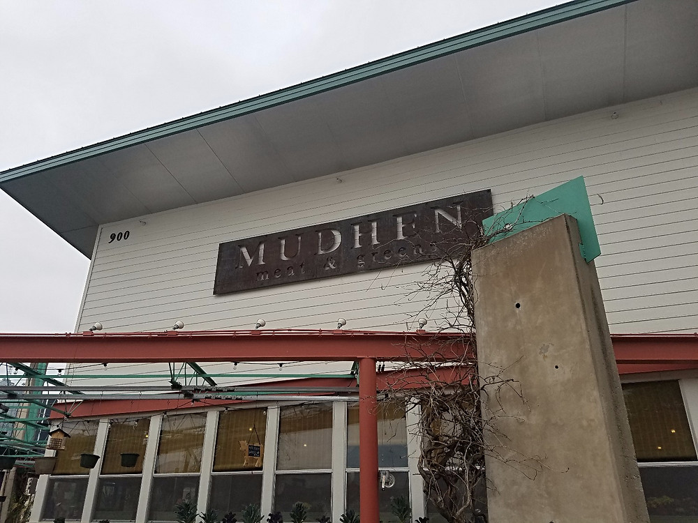 Mudhen is a huge restaurant!