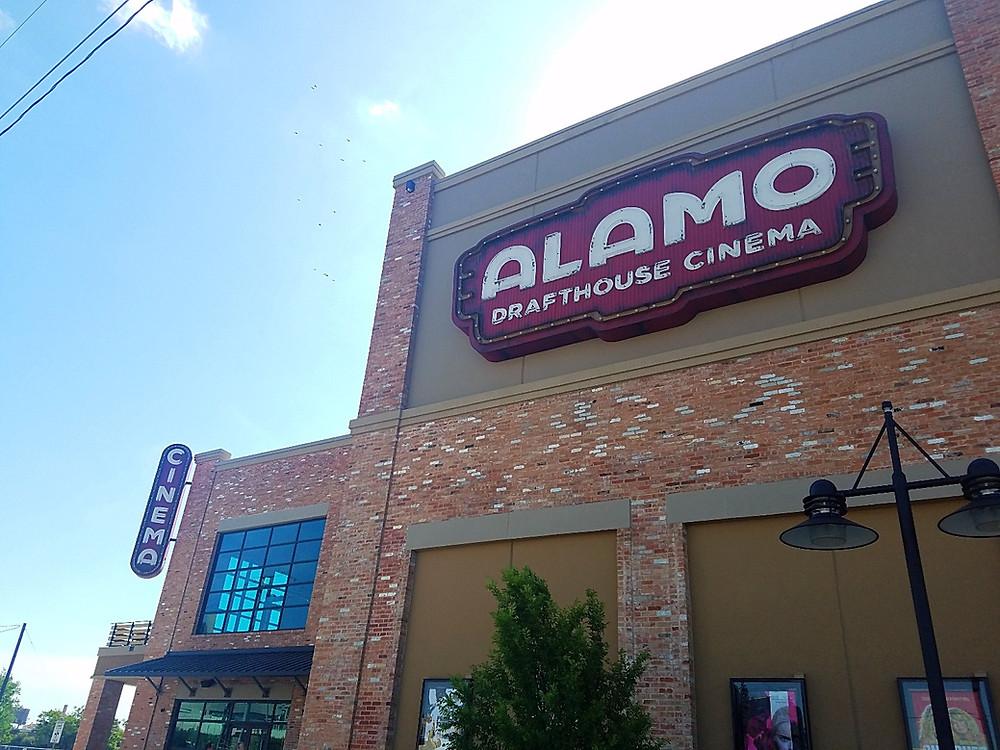 Alamo Drafthouse at The Cedars. My fav location!