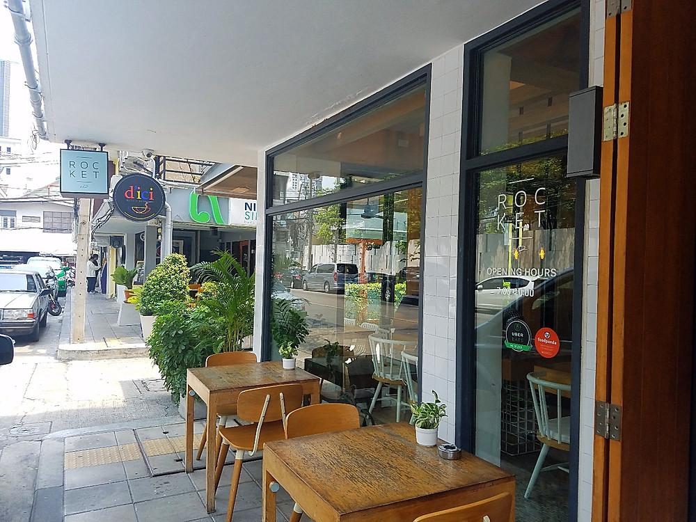 Rocket Coffeebar in Bangkok, Thailand