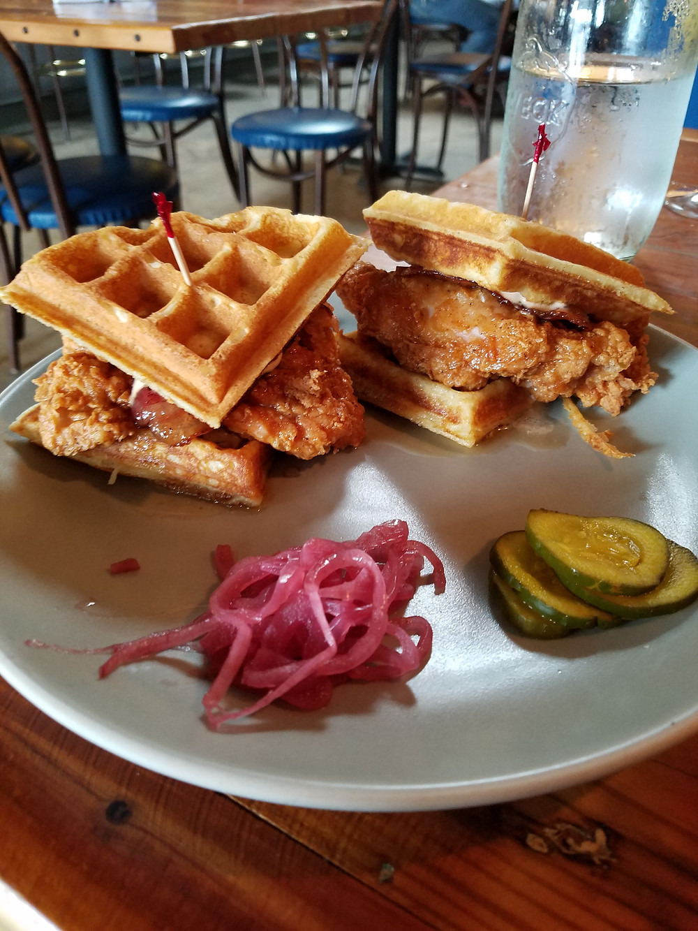 Chicken & Waffles. Yes please.