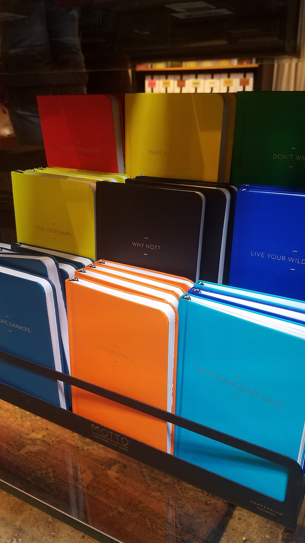 Funky journals at Life of Riley
