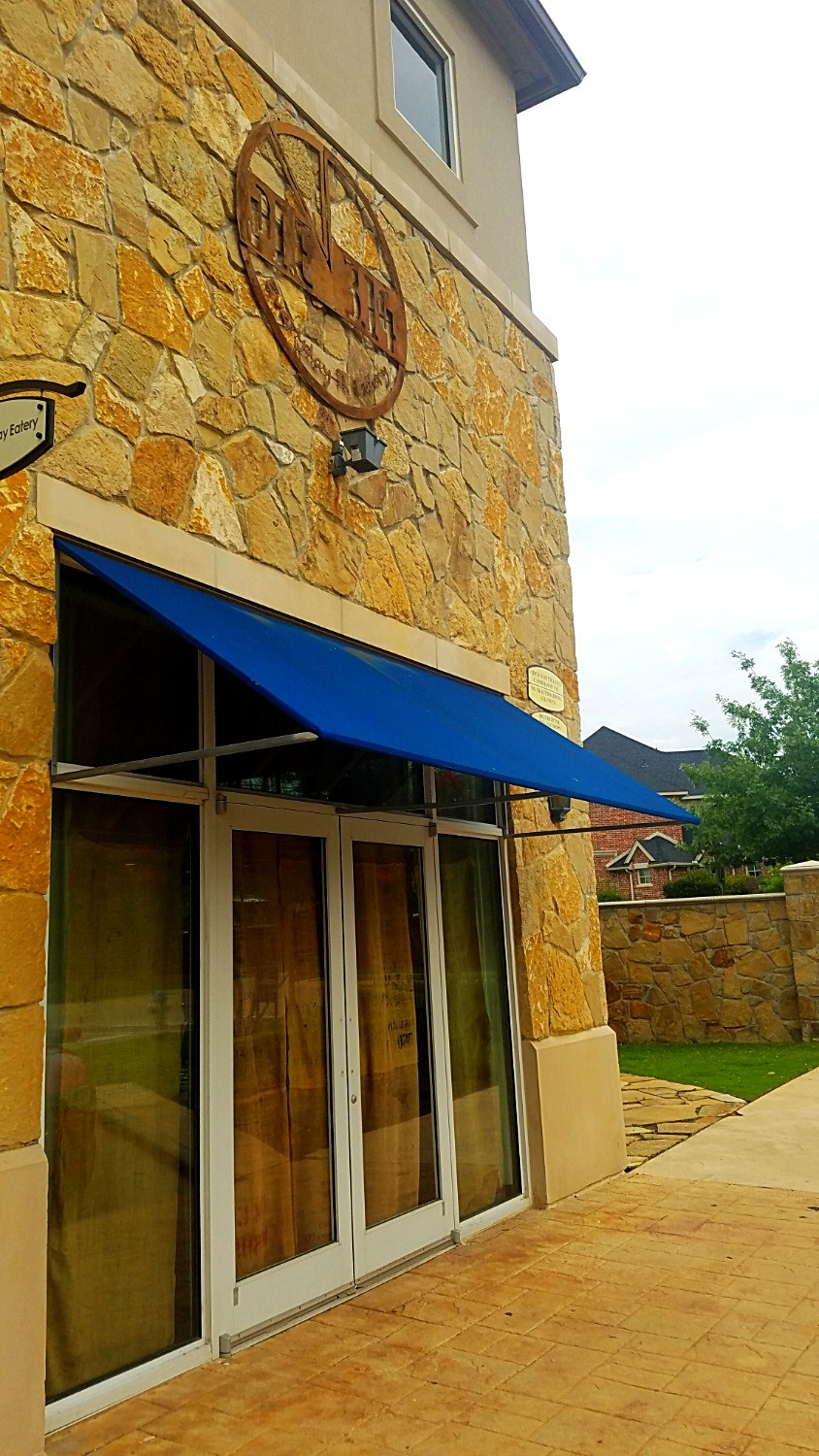 PIE 3.14 shines like a beacon in the middle of the Castle Hills neighborhood of Lewisville