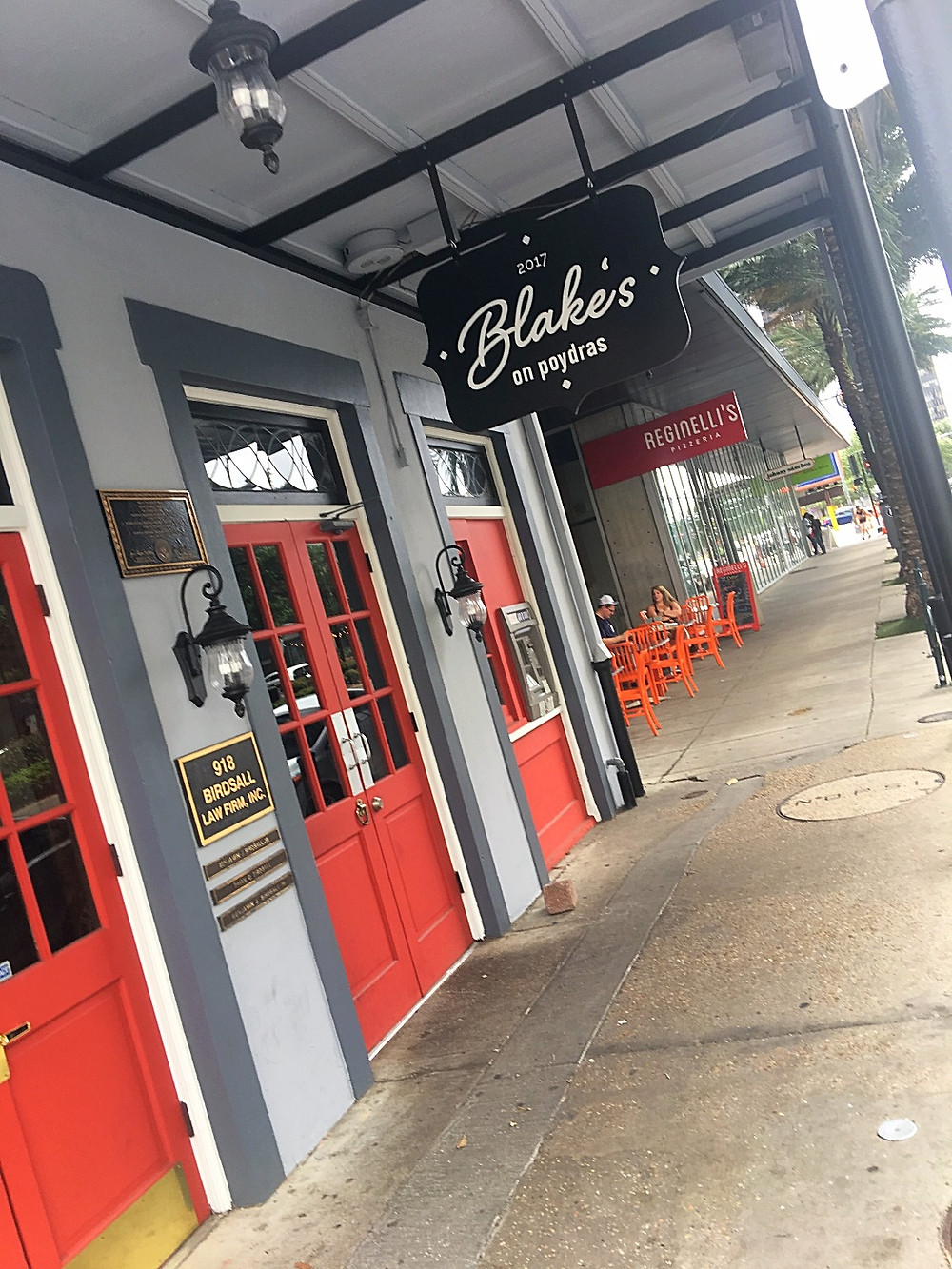 Blake's on Polydras in New Orleans