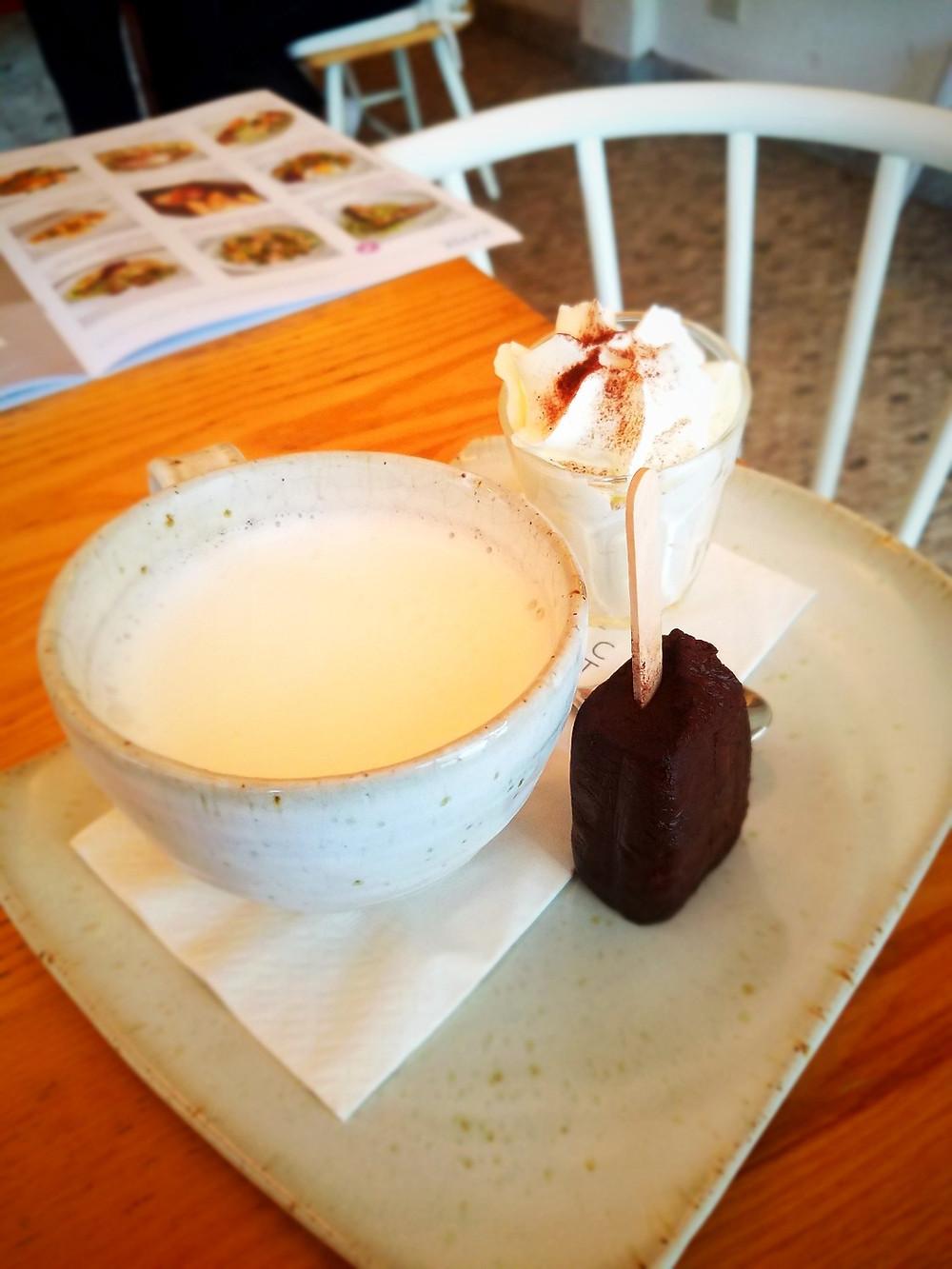 Hot Chocolate at Rocket Coffeebar