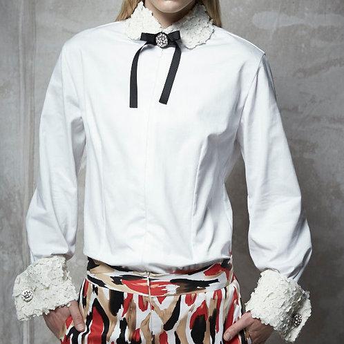 OPTIC WHITE FRENCH-CUFF DRESS SHIRT