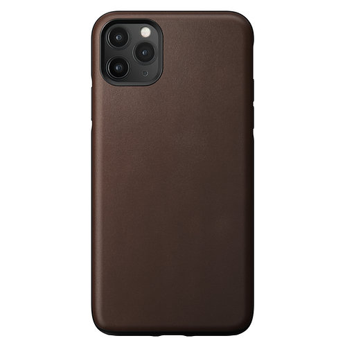 Horween Rugged Case Brown Leather iPhone 11