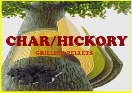 Lumber Jack Char-Hickory Blend Grilling Pellets