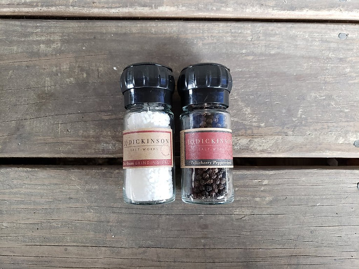JQ Dickinson Salt and Pepper Grinder Set