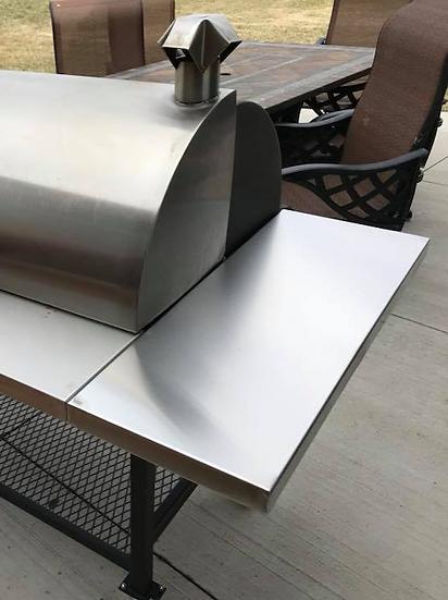 """12"""" Stainless Steel Side Shelf"""
