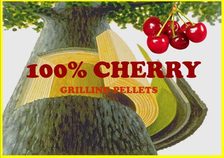 Lumber Jack 100% Cherry Grilling Pellets