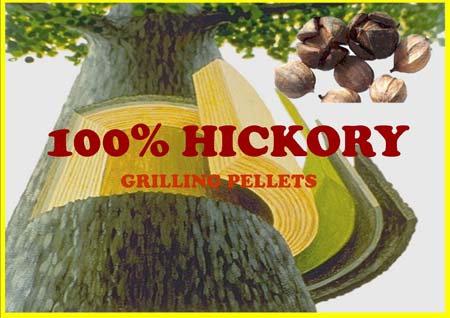 100% Hickory Lumberjack Grilling Pellets