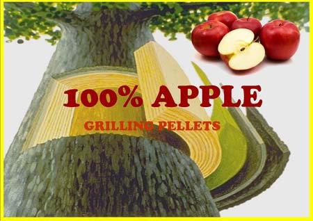 Lumber Jack PREMIUM 100% Apple Grilling Pellets