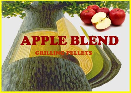 Lumber Jack Apple Blend Grilling Pellets