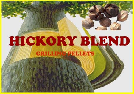 Lumber Jack Hickory Blend Grilling Pellets