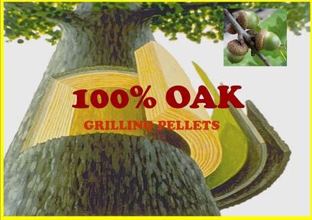 Lumber Jack 100% Oak Grilling Pellets