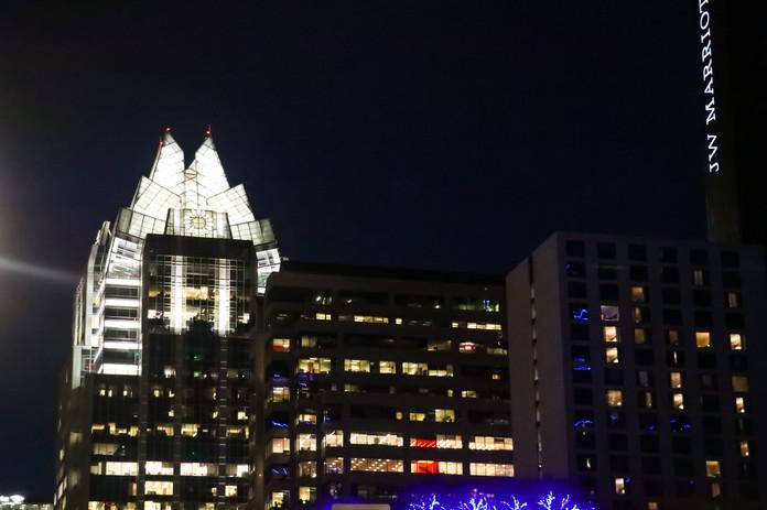 A slice of the Austin skyline