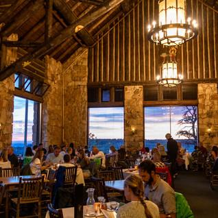 Grand Canyon Main Lodge Dining Room, North Rim of Grand Canyon National Park, AZ