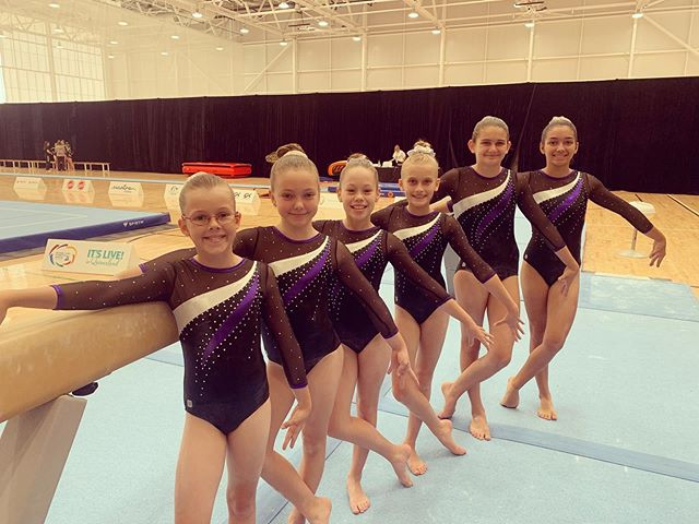 Great work girls! Our level 6 team have