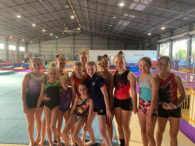 We were sad to say goodbye to Team gymna