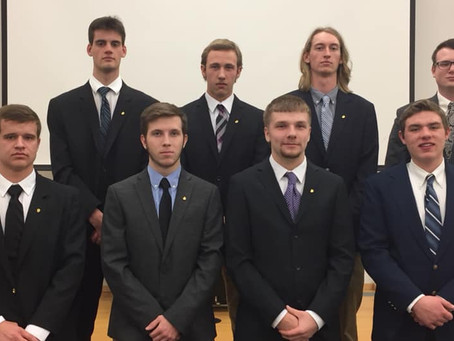 Eight New Brothers Welcomed to the Brotherhood