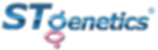 STgenetics-logo-L (1) Shiny Black R Logo