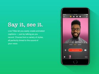 Clips, la nova App d'edició de vídeo d'Apple, ja disponible