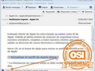 La Policia Nacional alerta d'un nou intent d'engany amb un correu electrònic que es fa passa