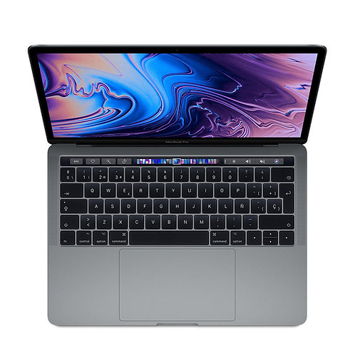 "MacBook Pro Retina 13"" amb Touch Bar, i5, 8 GB, 512 GB, Gris espacial."