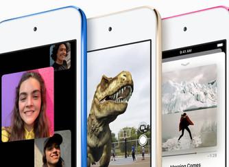 Nou iPod touch: ara més ràpid que mai gràcies a l'A10 Fusion i fins al doble d'emmagatzematg
