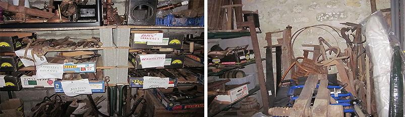 Garage d'outils de Jean-Paul Bousquet