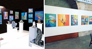 Salon d'art contemporain ou galerie ?