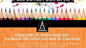 """Concours de dessin """"Des outils pour la vie"""""""