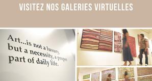 """Place des galeries, ou l'alliance de l'art et de la technologie """"made in confinement"""""""