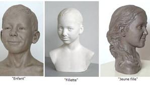Des visages témoins de notre humanité : sculptures de Laurent MC